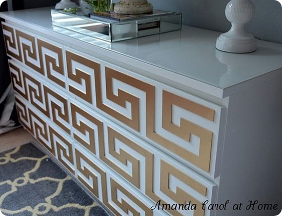 greek key malm dresser