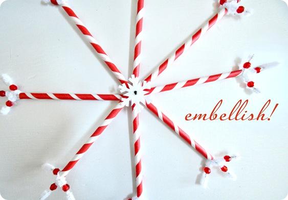 embellish snowflake