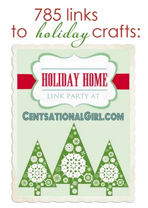holiday craft links button