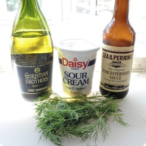 perfect four ingredients for stroganoff