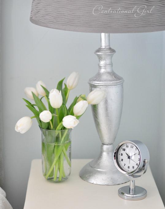 cg silver leaf lamp