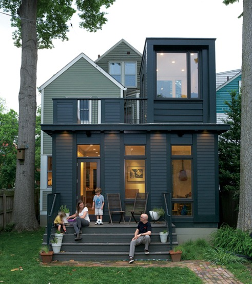 gray contemporary home dwell