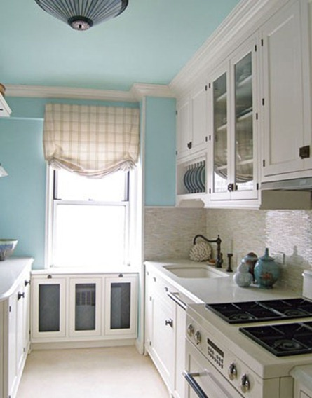 House Beautiful Robins Egg Blue Walls