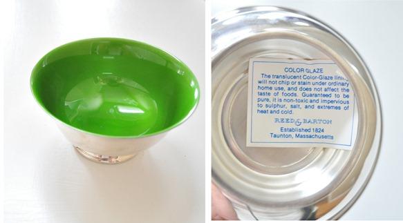kelly green bowl