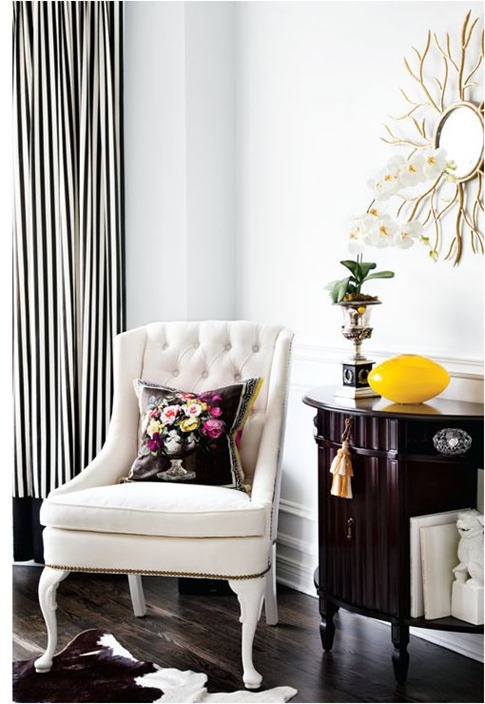 black and white from style at home