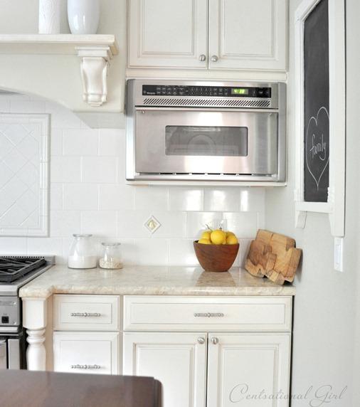 corner of white kitchen cg