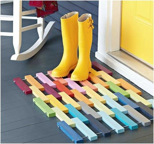 lowes wood floor mat