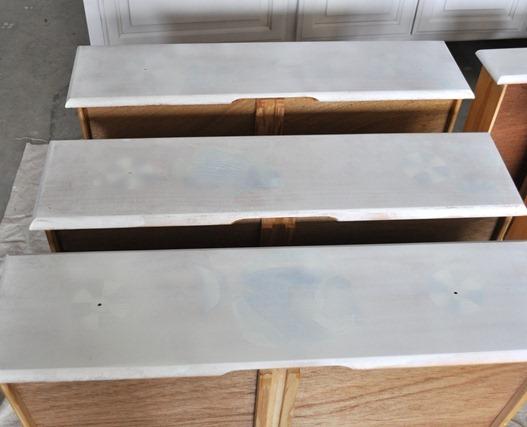 primed drawer fronts