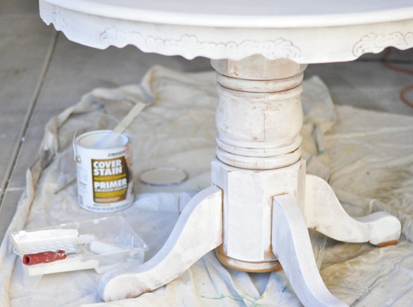 priming pedestal table