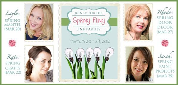 spring fling banner