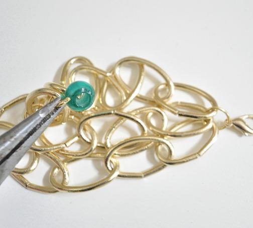 attach beads