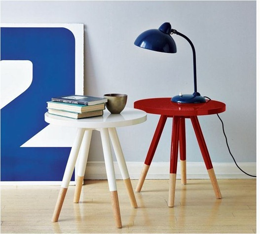 dipped side table west elm