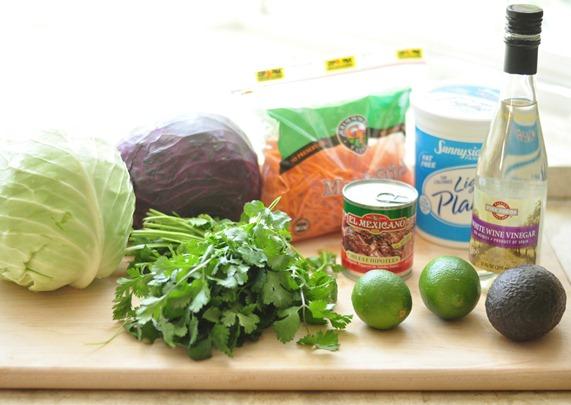 chipotle slaw ingredients