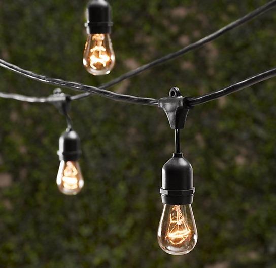 outdoor edison lightbulbs