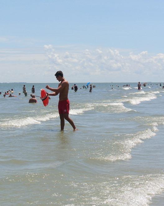 swimming in atlantic