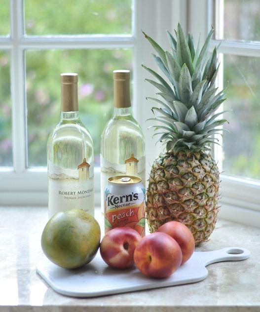 tropical sangria ingredients