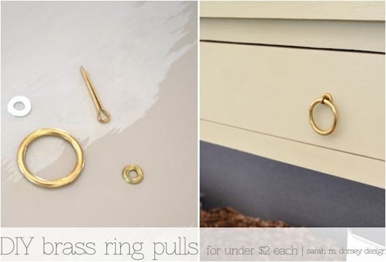 diy brass ring pull sarahmdorsey
