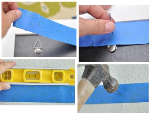 painters tape trick
