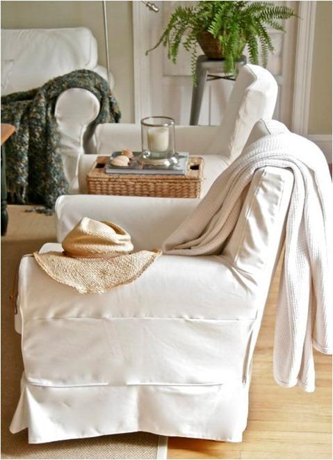 slipcovered chair stephen saint onge
