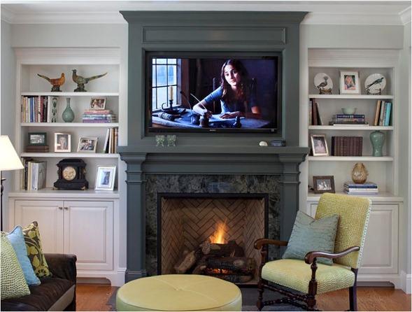 9 Ways To Design Around A Tv Centsational Style
