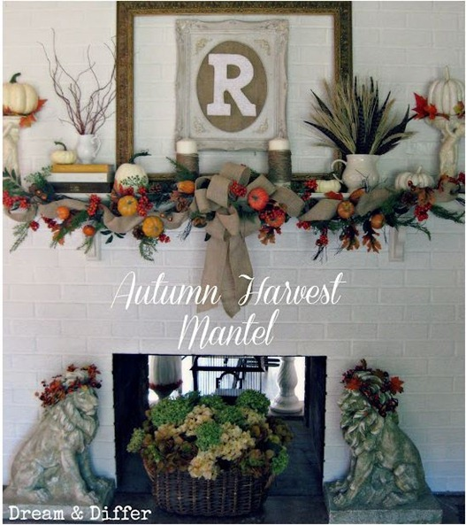 autumn mantel dream and differ