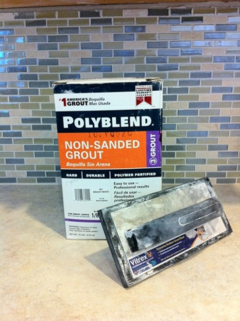grout and grout float