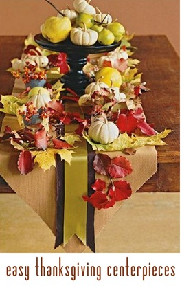 easy thanksgiving centerpieces