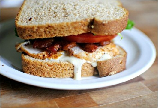 turkey ceasar blt