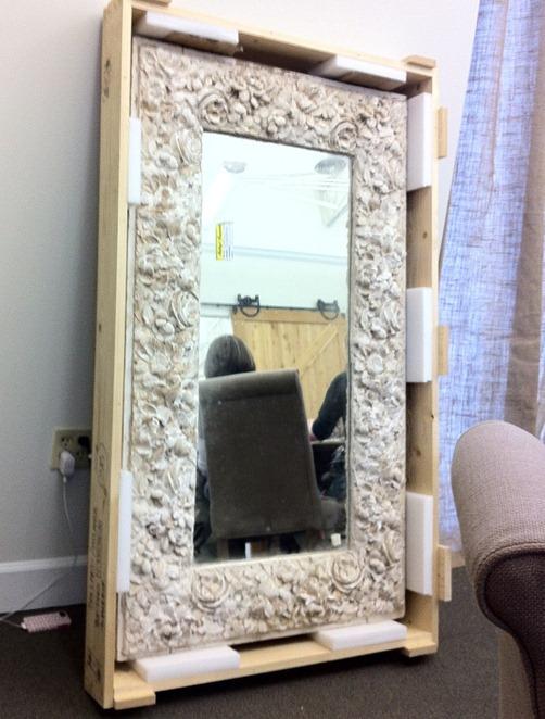 centuries old mirror