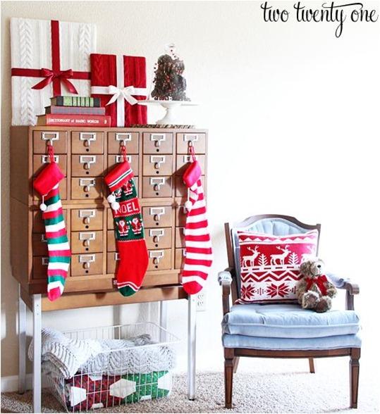 christmas display card catalog twotwentyone
