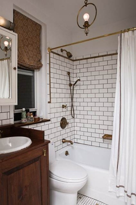 Best gray grout white tile Design Sponge