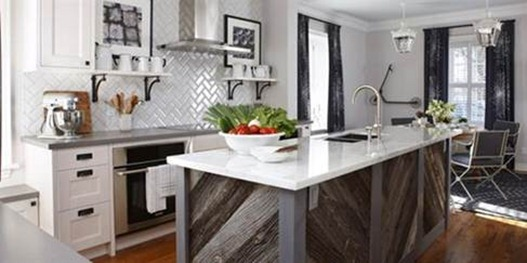 sarah richardson herringbone backsplash