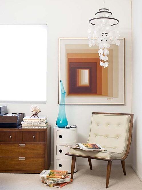 bedroom chair in corner bhg