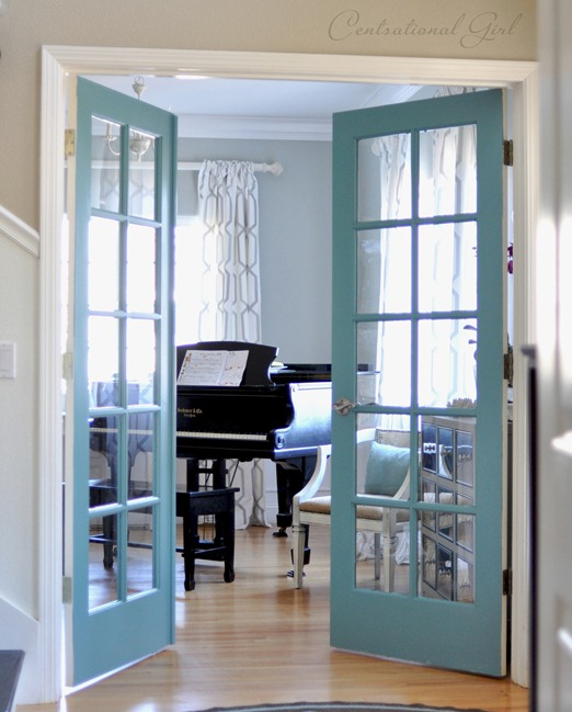 Charmant Diy Painted French Doors
