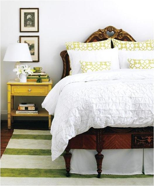 geometric bedding striped rug styleathome
