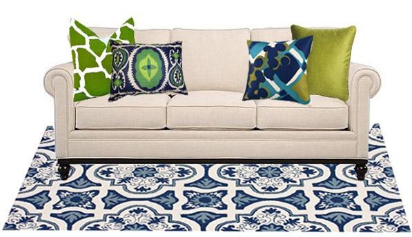 Sofa Pillow Styling Basic Tips Centsational Style