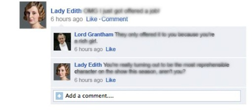downton abbey on facebook