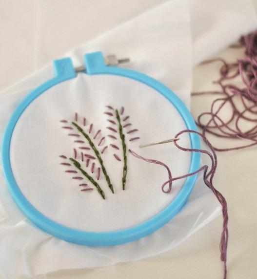 embroider lavender