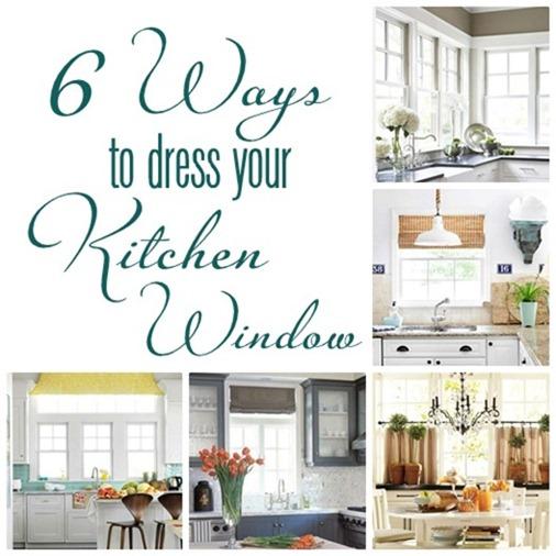 six ways to dress your kitchen window
