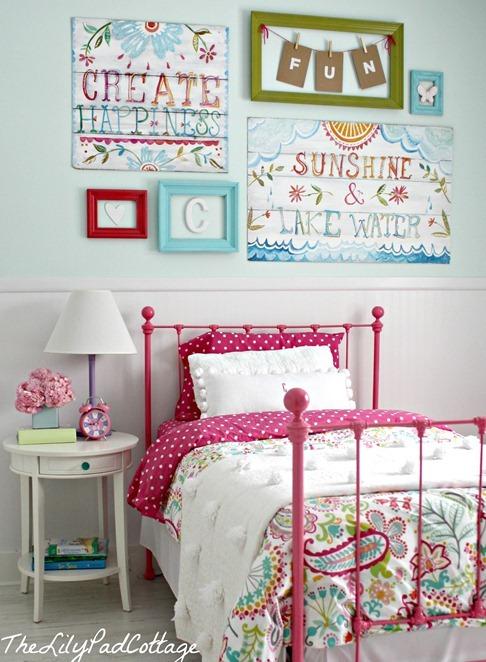 girls room lilypadcottage