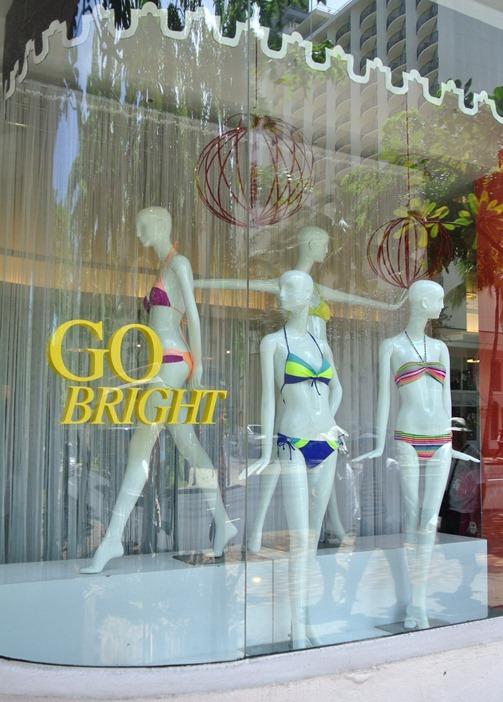 waikiki bikini shopping