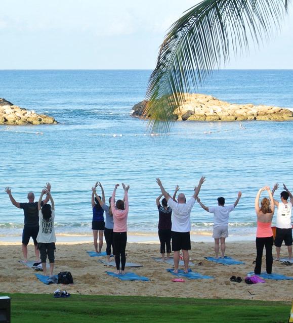 aulani morning yoga