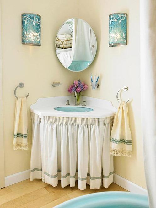Amazing bathroom vanity skirt bhg