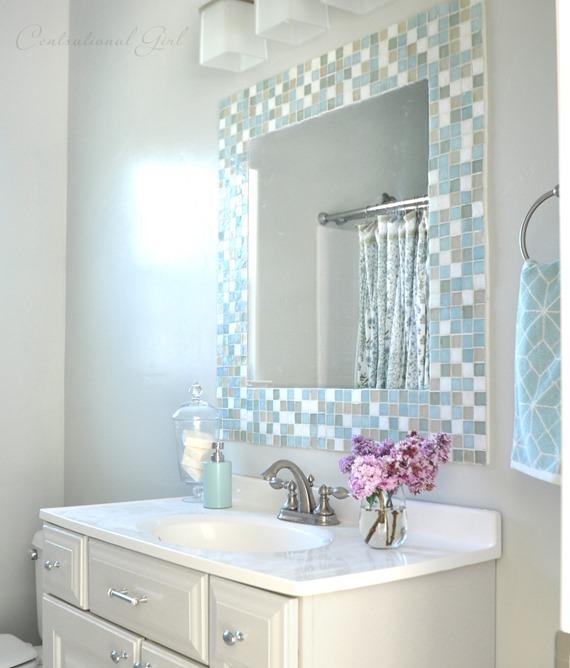 Diy Mosaic Tile Mirror Part 28