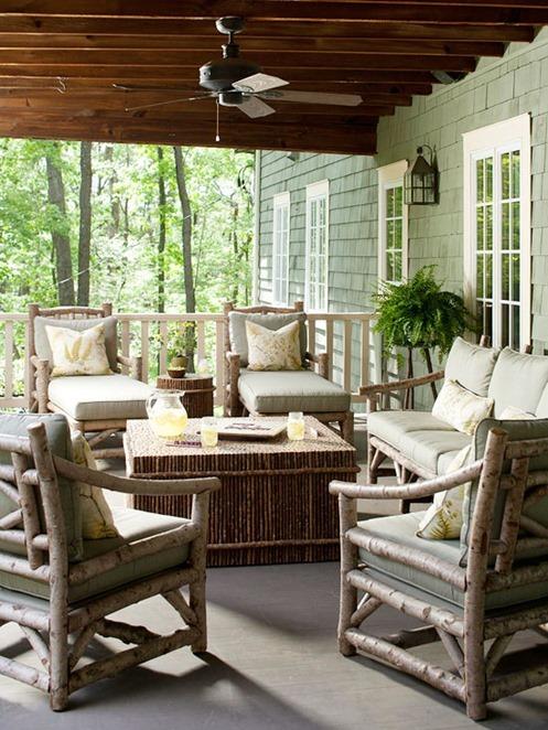 Fresh front porch bhg