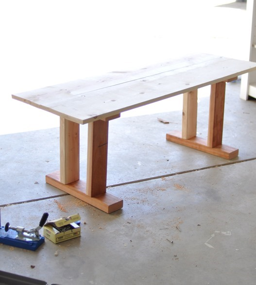 table after construction