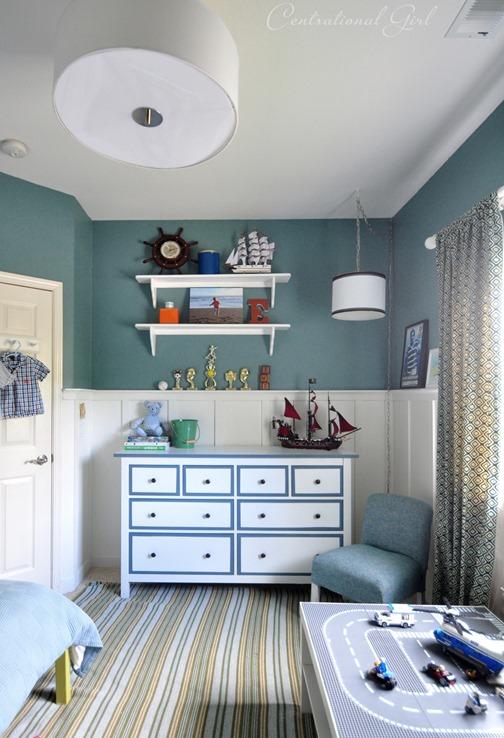 blue boys room
