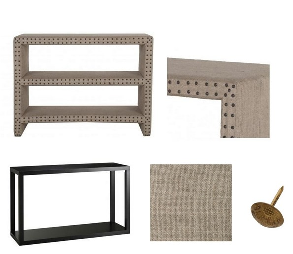 linen console look for less