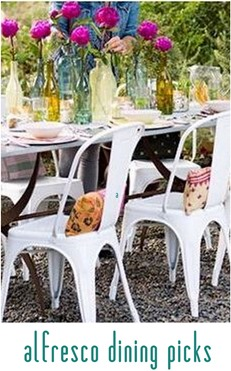 alfresco dining picks