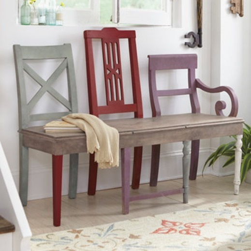 artisan bench grandinroad